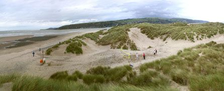 ynyslas Dunes and Beach